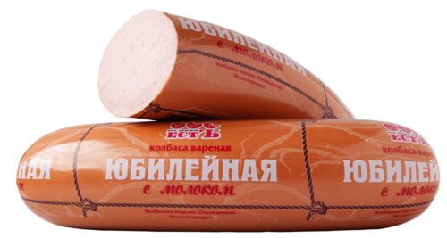 Колбаса вареная Юбилейная с молоком