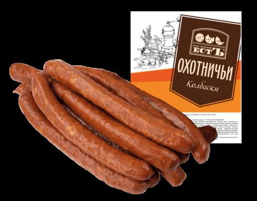 Колбаски Охотничьи п/к ГОСТ